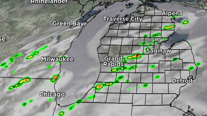 Metro Detroit weather forecast for June 7, 2021 -- 7 a.m. Update