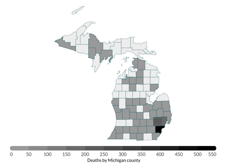 Michigan Coronavirus Timeline Key Dates Covid 19 Case Tracking State Orders