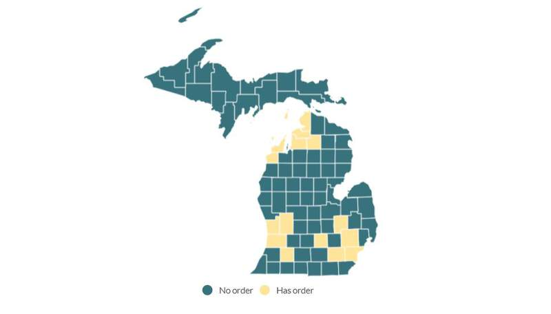 Michigan counties with school mask mandates -- Sept. 2, 2021