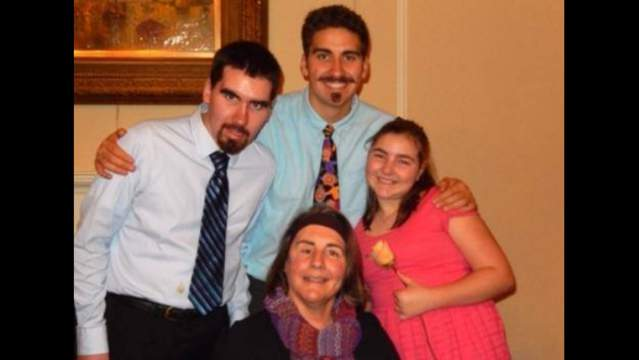From left: Sal Cipriano, Tanner Cipriano, Rose Cipriano, Isabella Cipriano