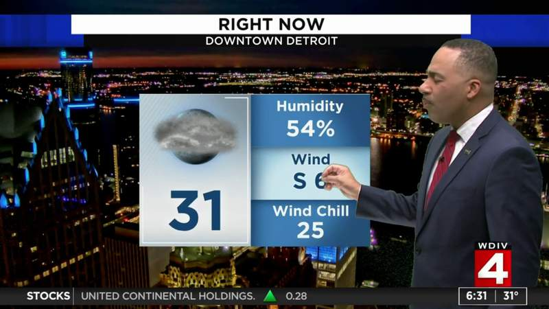 Metro Detroit weather: Chilly Saturday morning, milder in the afternoon