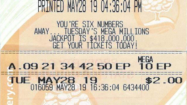Michigan Lottery Man Wins 1m Mega Millions Prize
