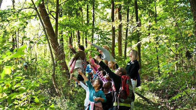 """LSNC's mission is to: """"Create moments of discovery that inspire curiosity, exploration and respect for STEM and the natural world. """" (Credit: Leisa Thompson)"""