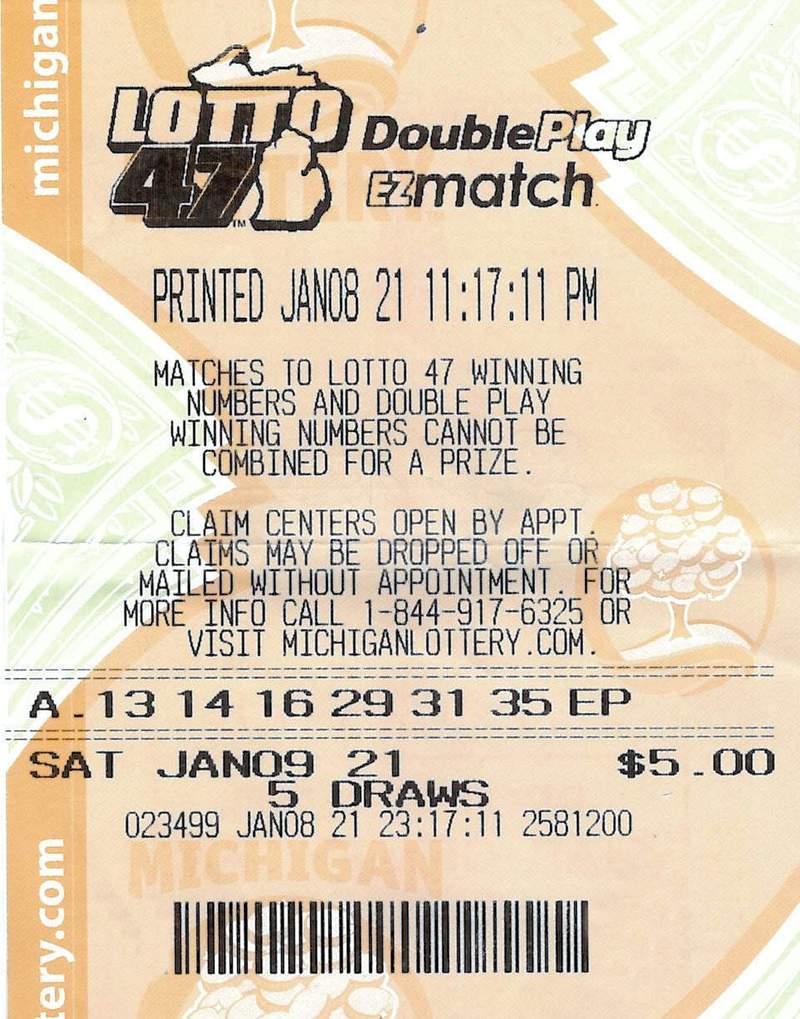 Wayne County Woman Wins $1.2 Million Lotto 47 Jackpot