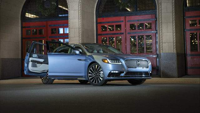 Lincoln Motor Company >> Lincoln Brings Back Iconic Suicide Doors On 2019 Continental