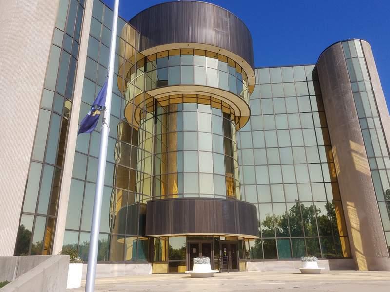 Livonia City Hall entrance