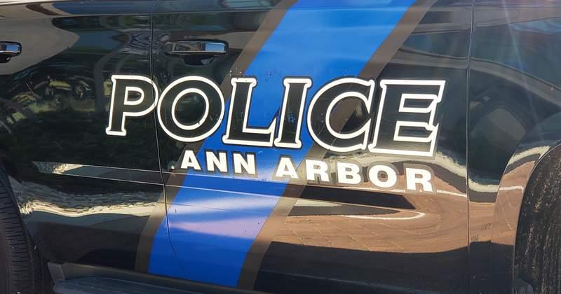 An Ann Arbor Police Department vehicle.