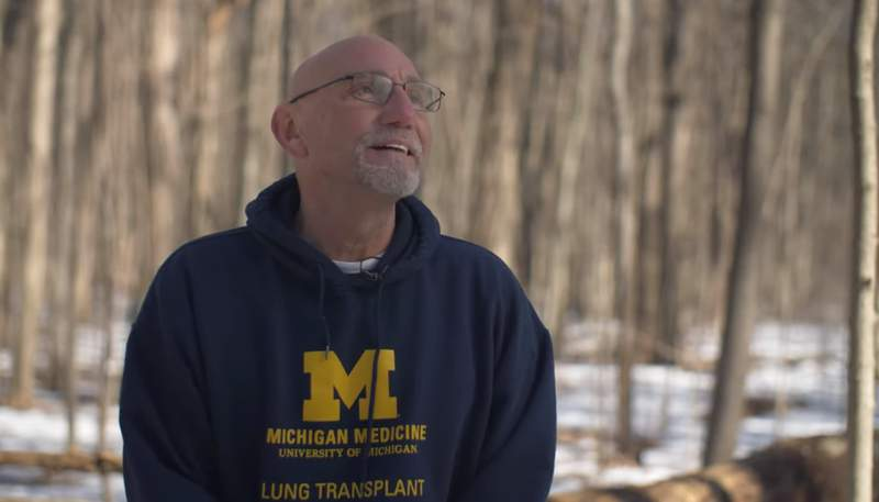Wayne County resident Paul DeWyse was Michigan Medicine's first confirmed COVID patient.