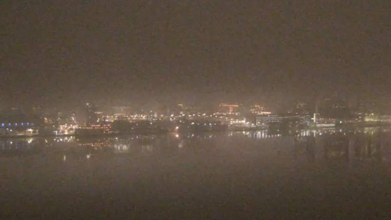 View of Detroit from the Windsor sky camera on Jan. 10, 2020 at 7:30 p.m.