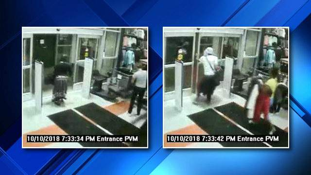 Bloomfield Township police are investigating $2,200 worth of coats stolen from a Dick's Sporting Goods store on Oct. 10, 2018 (WDIV)