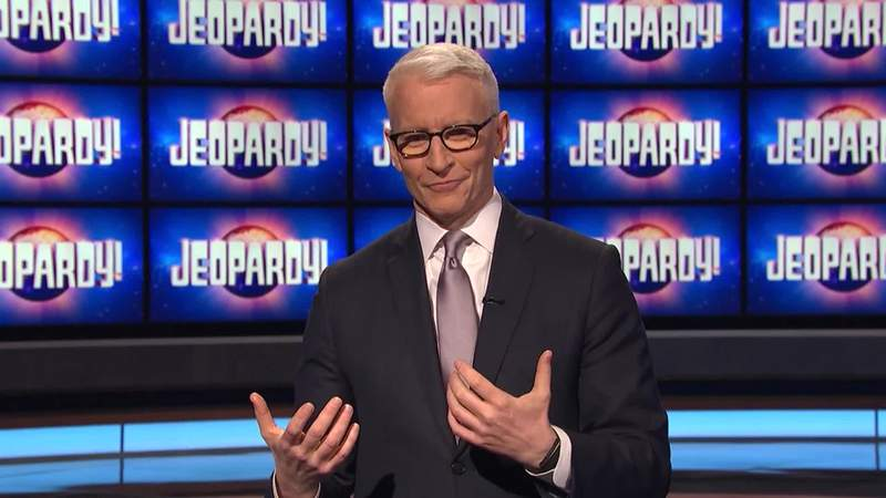 Anderson Cooper guest hosts 'Jeopardy!'