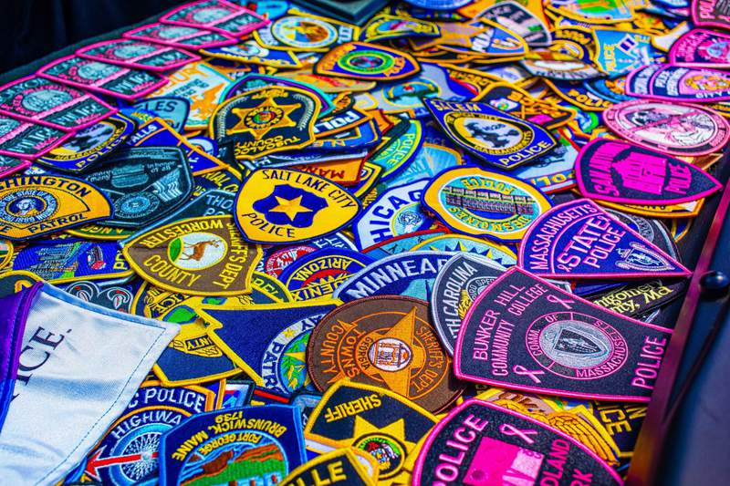 Police patches from around the United States
