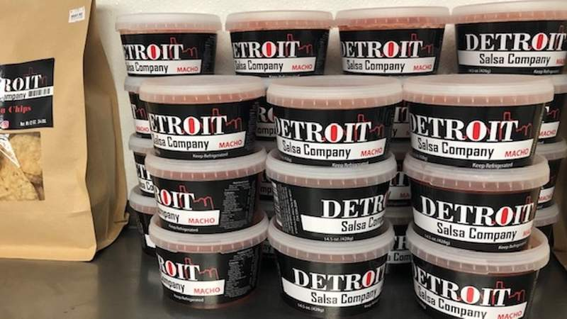 Detroit Salsa Company on Live in the D