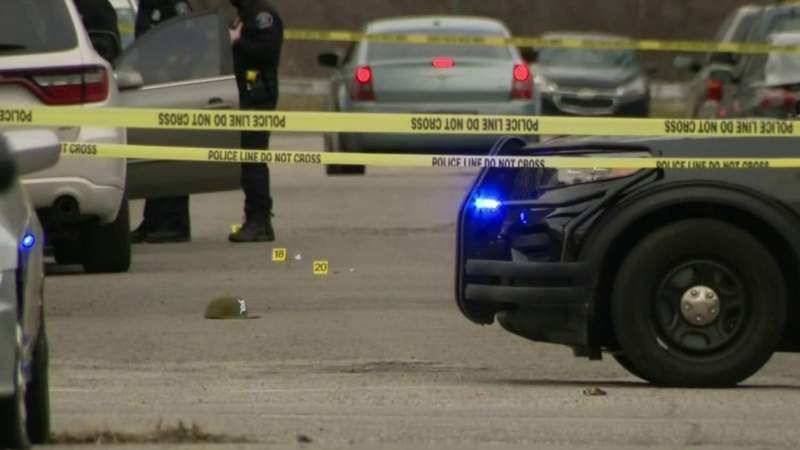 Four shot, one killed on Detroit's east side