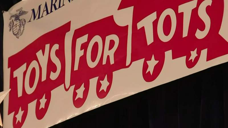 Toys for Tots needs help
