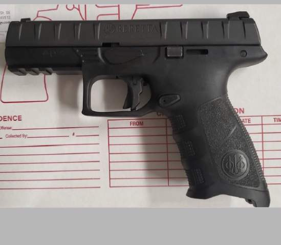 This handgun was detected by TSA officers in a passenger's carry-on bag at Gerald R. Ford International Airport (GRR) on Nov. 1.