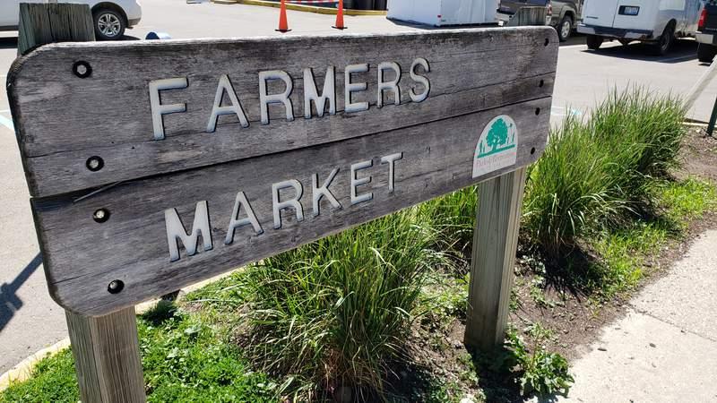 The Ann Arbor Farmers Market is at 315 Detroit St.