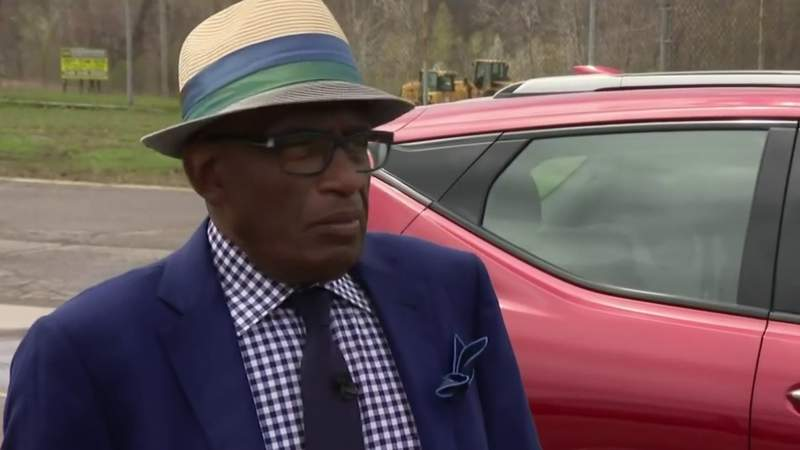 Al Roker stops in Metro Detroit to check out GM's electric plans for the future
