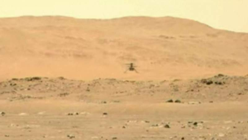 Mars rover update: NASA's Ingenuity helicopter makes successful second flight