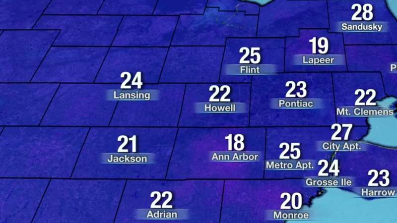 Metro Detroit weather: First day of spring cold in the morning with a milder afternoon ahead