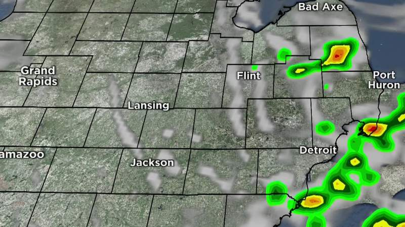 Metro Detroit weather forecast for June 14, 2021 -- 7 a.m. Update