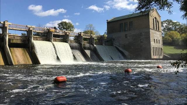 Barton Dam on Oct. 13, 2018 (Photo: Meredith Bruckner)