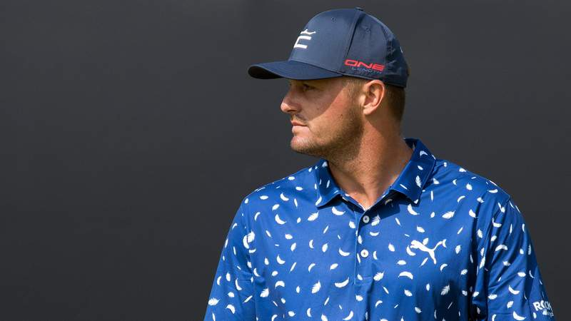 Bryson DeChambeau tested positive for COVID-19 and will not compete at the Olympics.