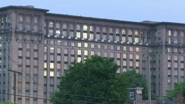 Michigan Central Station in Detroit (WDIV)
