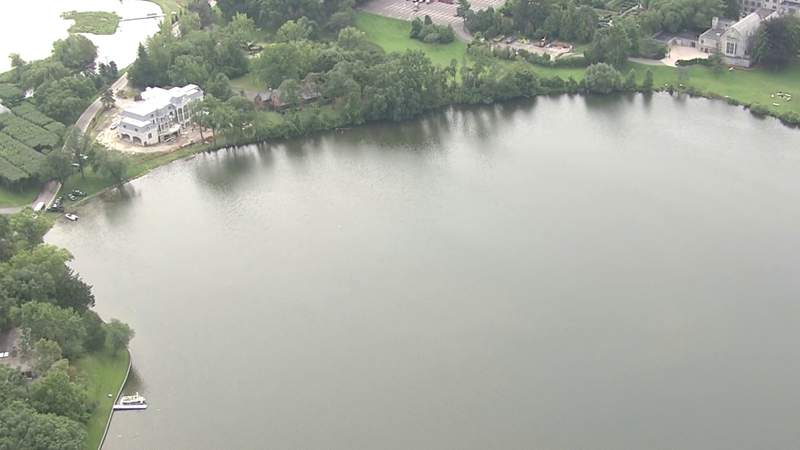 Island Lake in Bloomfield Township on Aug. 13, 2021.