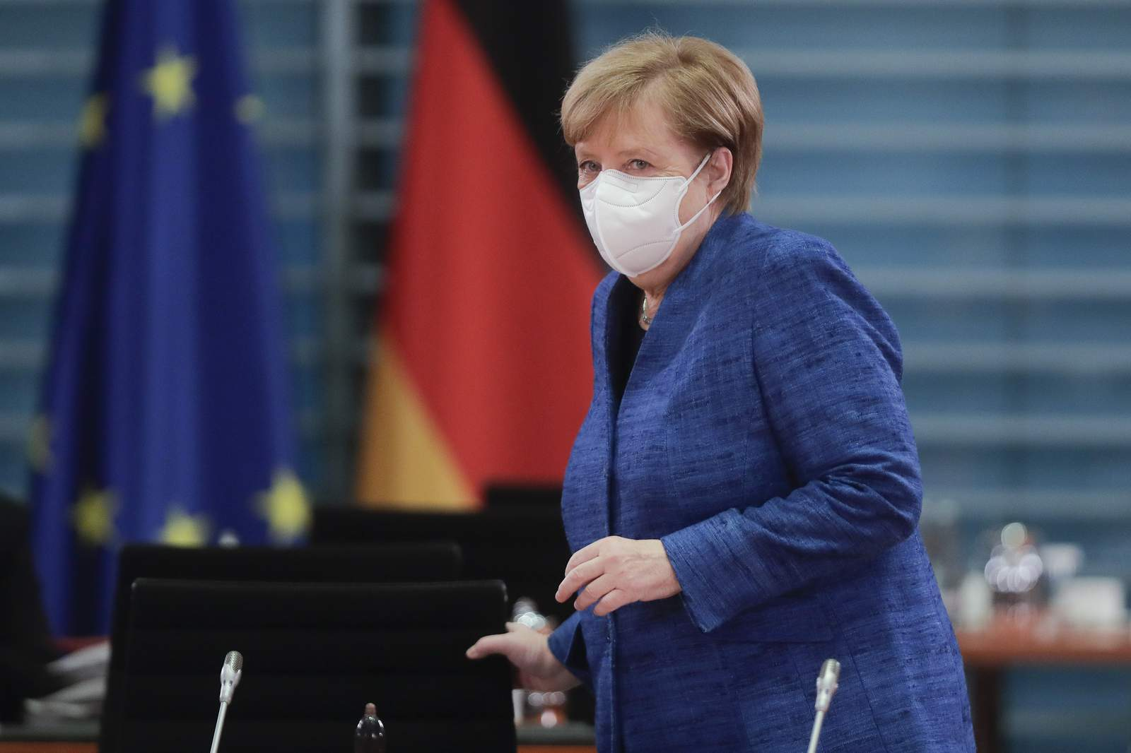 Germany Leaders Announce Four Week Shutdown As Covid Cases Spike