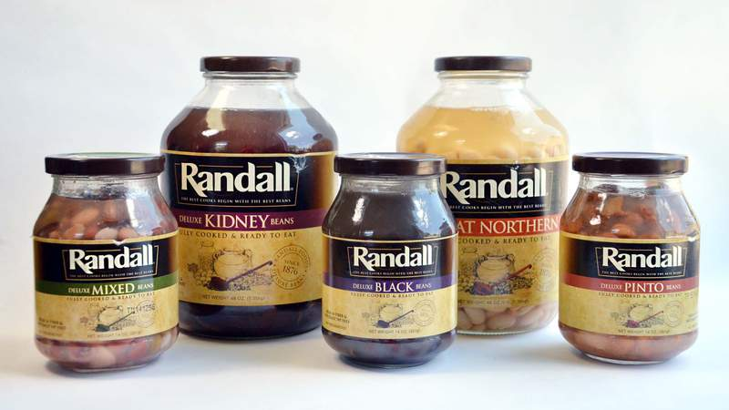 A photo of jarred beans sold by Randall Food Inc. The company issued a nationwide recall of all bean products following a manufacturing issue. Photo provided by the Michigan Department of Agriculture and Rural Development.