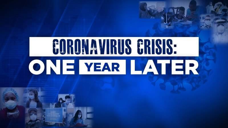 Coronavirus pandemic -- one year later