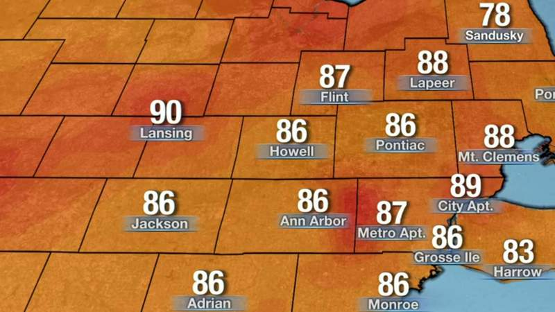 Metro Detroit weather: Warm Saturday night, hot Sunday with pollution concerns, June 5, 2021, 11 p.m. update