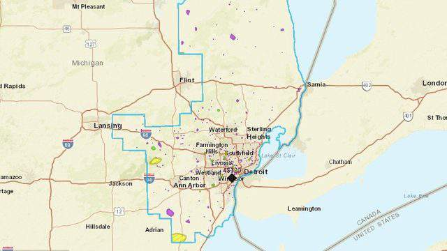 Detroit Edison Power Outage Map DTE Energy power outage map: Here's how to check it
