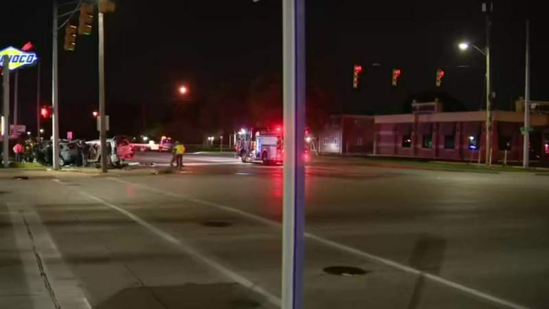 Shooting at party in Inkster leads to deadly crash in Dearborn Heights