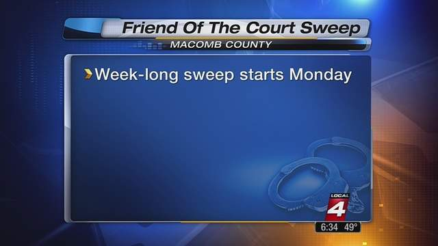 """Macomb County is asking for your help getting so called """"deadbeat"""" parents to pay up on child support."""