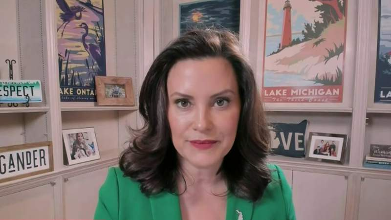 Michigan Gov. Whitmer speaks out on violent attack on US Capitol
