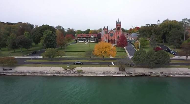 On Jan. 12, 2010, Grosse Pointe Farms police reported Matouk Romain walked out of her evening church service at St. Paul on the Lake Catholic Church on Lake Shore Road, then walked across the street right into Lake St. Clair and killed herself.