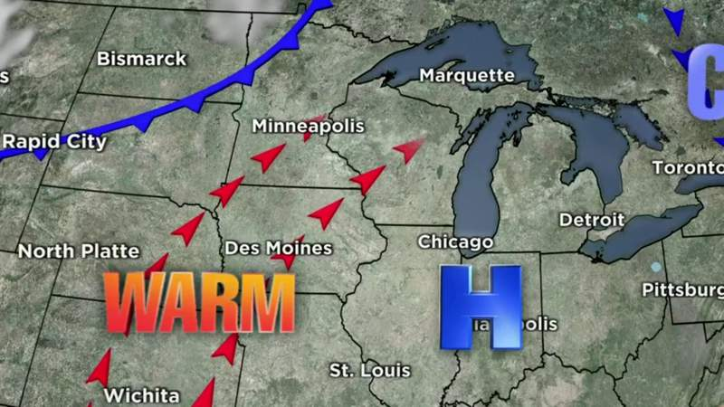Metro Detroit weather forecast for April 2, 2021 -- 6 a.m. Update