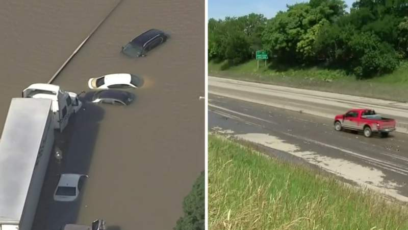 When will I-94 in Metro Detroit reopen after severe flooding?
