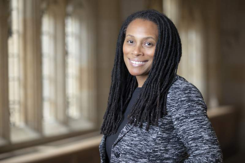 This undated photo provided by Yale University shows Dr. Marcella Nunez-Smith. Addressing racial disparities in the U.S. coronavirus crisis cannot be an afterthought, the top adviser to President-elect Joe Biden on the COVID-19 pandemic response said Tuesday, Dec. 1, 2020. (Yale University via AP)