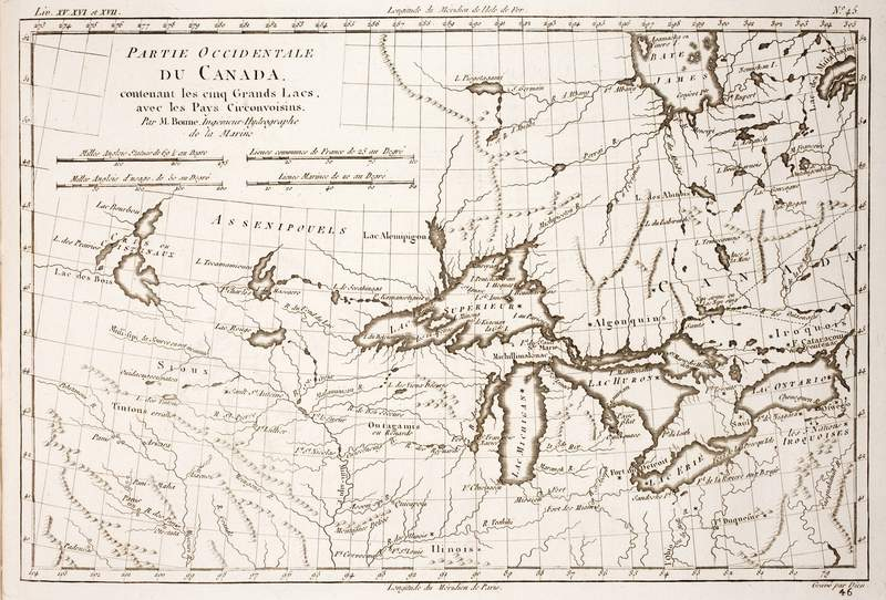 At least Lake Superior looked kind of normal in 1780.