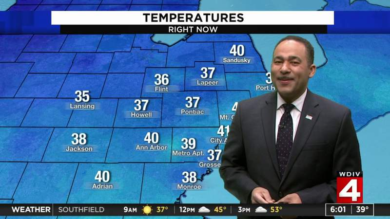 Metro Detroit weather: Brighter, cooler and less breezy Saturday