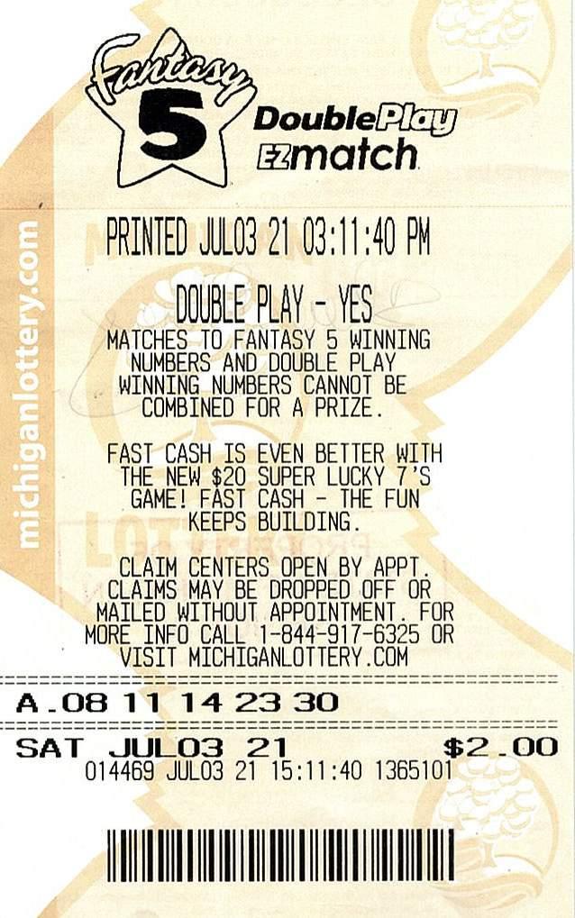 Macomb County Woman Wins $210,517 Fantasy 5 Jackpot from the Michigan Lottery