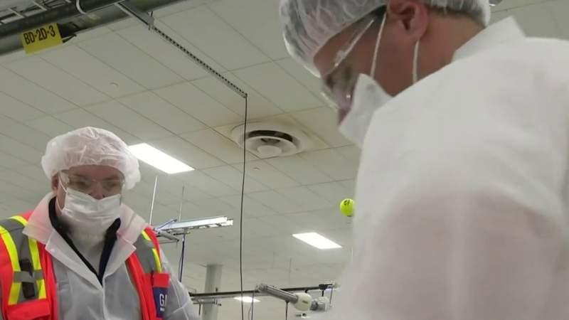 An inside look at GM's mask manufacturing in Warren