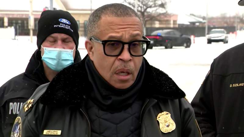Detroit police Chief James Craig provides update on fatal shooting of murder suspect