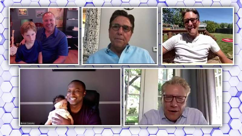 Local 4 dads share their experiences parenting during COVID pandemic -- Full video