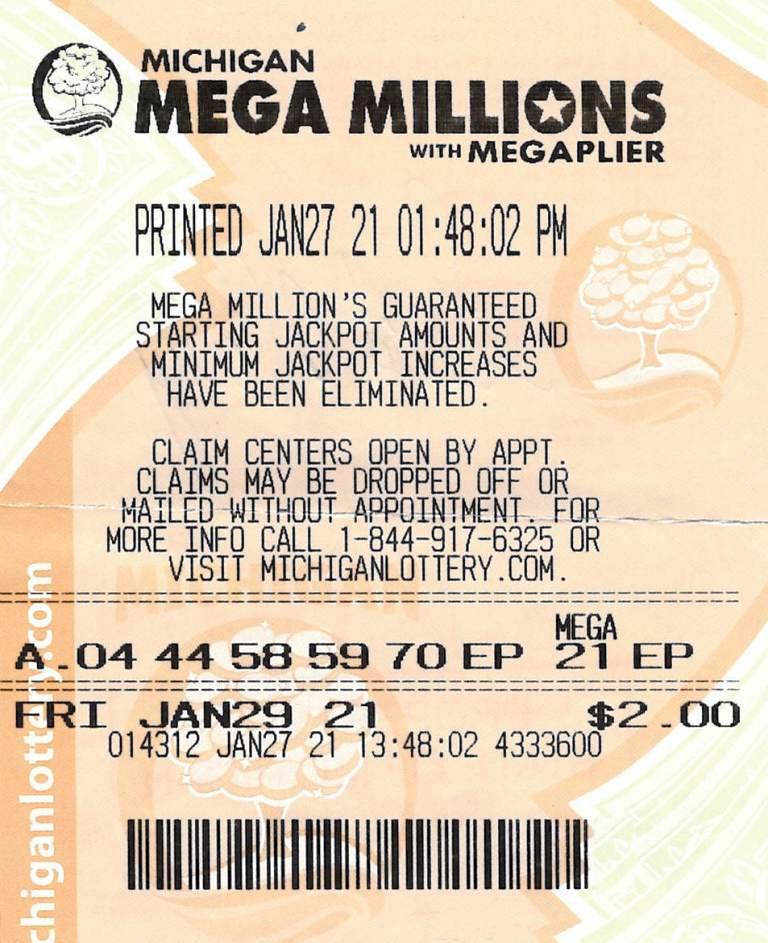 Lake County Man Wins $1 Million Mega Millions Prize