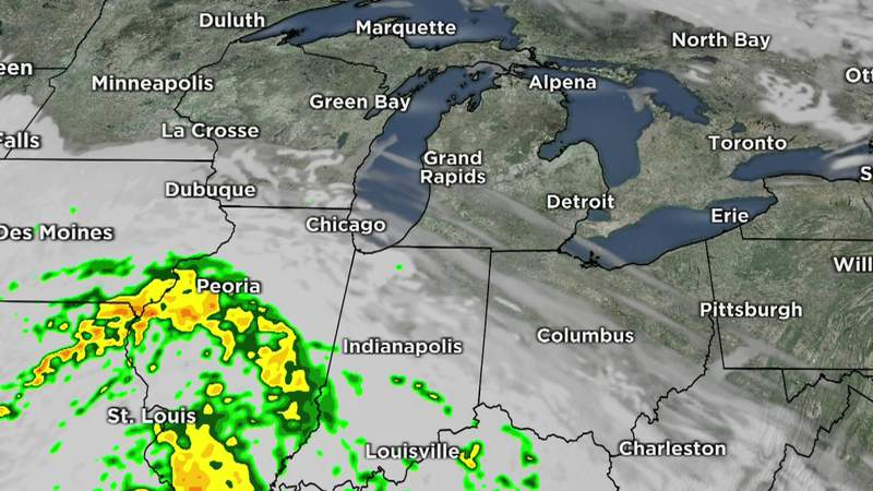 Metro Detroit weather forecast for May 18, 2021 -- 7 a.m. Update