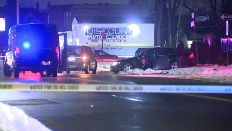 Tireman Avenue and Prairie Street on Detroit's west side, where police found a man's body inside a car on Feb. 23, 2021.
